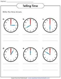 1000+ images about Math - Super Teacher Worksheets on Pinterest ...Help your students learn how to tell time! Visit Super Teacher Worksheets to view our