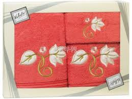 <b>Полотенце Valentini Flower 1</b> 30x50/50x100/70x140cm 3шт 1088