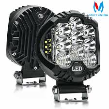 "<b>2pcs</b> 5"" 50W <b>LED Work Light</b> Bar Combo Driving Fog Lamp Super ..."