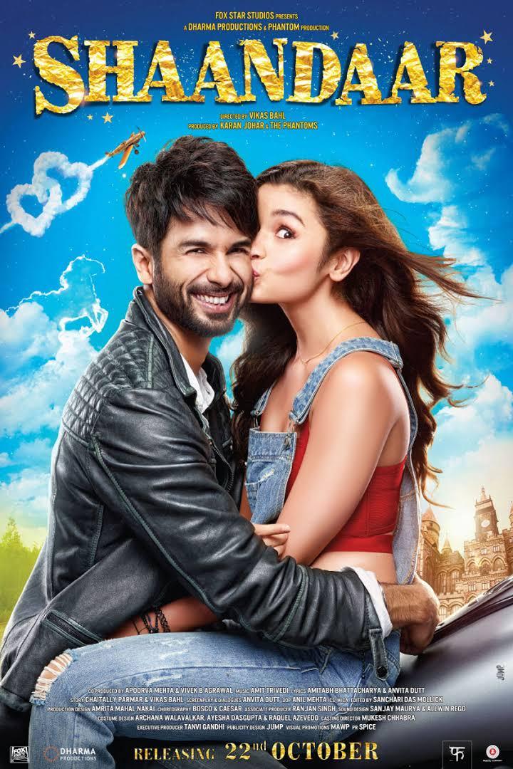 Download Shaandaar (2015) Hindi Full Movie 480p   720p