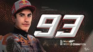 Marc Marquez is the <b>2019 MotoGP</b>™ World Champion! #8ball ...