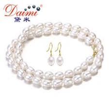 <b>ASHIQI</b> 100% 925 sterling silver <b>pearl</b> necklace,real <b>natural</b> ...