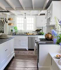 living kitchens countrylivinggreenandwhite
