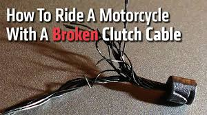 How To Ride A <b>Motorcycle</b> With A Broken <b>Clutch Cable</b>