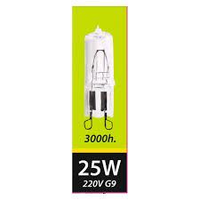 <b>лампа галогенная SHOLTZ</b> 25Вт <b>G9</b> 260лм 2700K 220В капсула ...