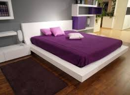 fascinating bedroom design light purple ideas in unique models with white bed platform along purple covered bedroom nightstand lamps ideas lighting models bedside