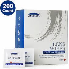 <b>VISUMALL</b> Lens <b>Cleaning</b> Wipes Eye Glasses Computer Optical ...