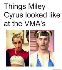 How Miley Cyrus at the VMA's will go down in history: Illustrated ... via Relatably.com