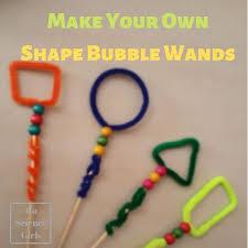 <b>Shape</b> Bubble Wands - <b>DIY</b> in <b>Different Shapes</b> - Go Science Girls