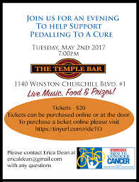 pedalling to a cure tickets tue 2 2017 at 7 00 pm eventbrite there s also a great door prize generously donated by don t miss out get your tickets now while they re still available