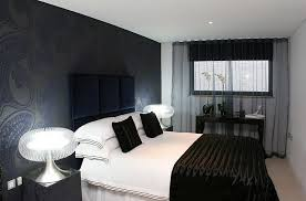 view in gallery sophisticated contemporary bedroom in london clad mainly in black and white amazing white black bedroom