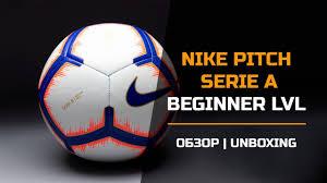 <b>Футбольный мяч Nike Pitch</b> Serie A SC3374-100 - YouTube