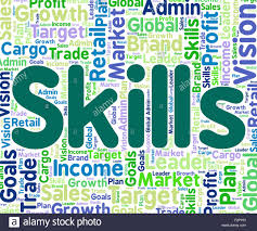 skills word indicating words abilities and expertise stock photo skills word indicating words abilities and expertise