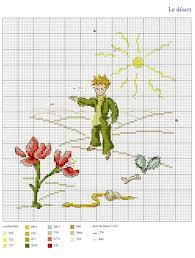 Gallery.ru / Фото #21 - Le <b>Petit Prince</b> a broder au point de croix ...