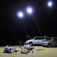 224pcs LEDs <b>COB</b> 12V LED <b>Telescopic</b> Fishing <b>Rod</b> Outdoor ...