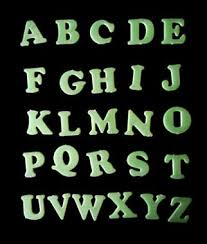 <b>26 English letters</b> luminous fluorescent stickers wall stickers wall ...