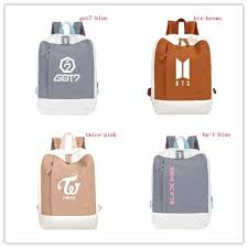 <b>new</b> fan travel <b>backpack</b> bts blackpink <b>got7</b> twice Korea <b>bags</b> ₱468