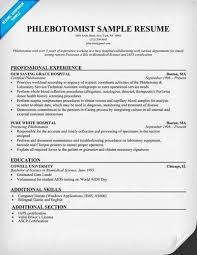 certified phlebotomist  lt a href  quot http   resume tcdhalls com resume    phlebotomist resume sample   career enter