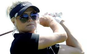 Scotland's Carly Booth won a three-way play-off against German duo Anja Monke and Caroline Masson with an eagle on the fourth extra hole at the Deutsche ... - Carly_2251003b