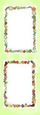 best images about healthy eating fruits and twinkl resources >> fruit and vegetables themed a4 page borders >> thousands of printable
