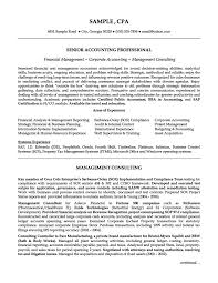 senior accounting professional resume example resumes senior accounting professional resume example