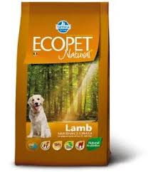 <b>Сухой корм Farmina Ecopet</b> Natural Dog Adult с ягненком для ...