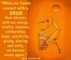 "Djembe meme - ""When our hands connect with a DRUM that vibrates ... via Relatably.com"
