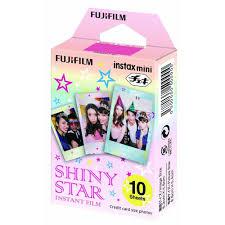 100% Brand New <b>Fujifilm</b> Instax Mini <b>Film SHINY STAR</b> 10 Sheets ...