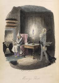 fowl play why a christmas carol meant our goose was cooked marley s ghost original illustration by john leech from a christmas carol 1843