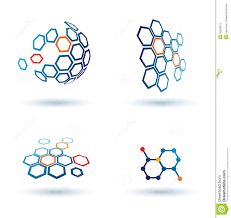hexagonal abstract icons business concepts business concepts