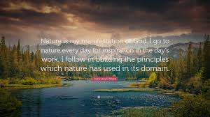 Image result for God in nature inspiration