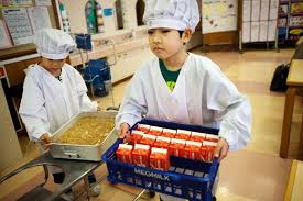 Image result for kid serving meal