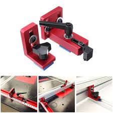 fixed t-slot miter <b>track</b> stop chute stopper <b>30</b>/<b>45</b> manual woodworking ...