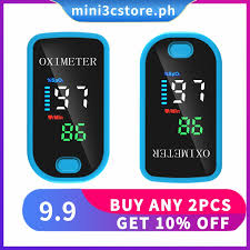 【buy <b>2pcs</b> get 10% off】<b>Fingertip Oximeter</b> SPO2 Pulse Rate ...