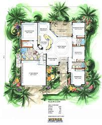 Mediterranean House Plan   Laverra House Plan   Weber Design GroupLaverra Home Plan