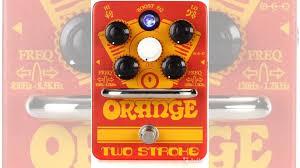 Гитарная <b>педаль эффектов Orange</b> Two Stroke купить в Москве ...