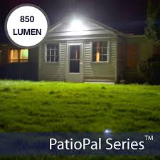 SecurePal <b>96 LED Solar</b> Outdoor Security Flood Light - Silicon Solar