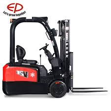 China 1.3t <b>Ce Certified Three</b> Wheel Electric Forklift - China Electric ...