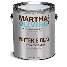 martha stewart living paint colors:  gal flat potters clay tinting base