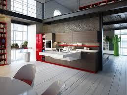 kitchen black color furniture office counter design