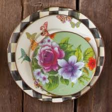 <b>Тарелка десертная</b> 20 см <b>Flower</b> Market 89217-90 MacKenzie-Childs