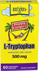Natural Balance <b>L</b>-<b>Tryptophan</b> Vegetarian Capsules <b>500 mg 60</b> Count