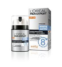 <b>L'Oreal Paris Men</b> Expert White Activ Whitening Moisturing Fluid, 50 ml