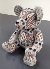 Шетландские <b>мишки</b> Тедди в стиле Fair Isle от Wendy Inkster ...