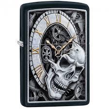 ROZETKA | <b>Зажигалка Zippo Skull Clock</b> Design, 29854. Цена ...