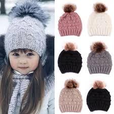 <b>Fashion Cute</b> Toddler Kids Girl Boy Hats Caps Baby Children <b>Winter</b> ...