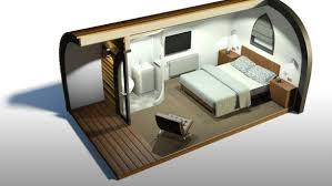 bedroom camping pod chad garden pod