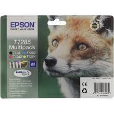 Комплект <b>картриджей Epson</b> T1281, T1282 (голубой), T1283 ...