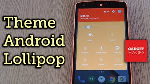 theme android lollipop with custom colors how to change color scheme theme