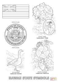 Small Picture Hawaii State Symbols coloring page Free Printable Coloring Pages